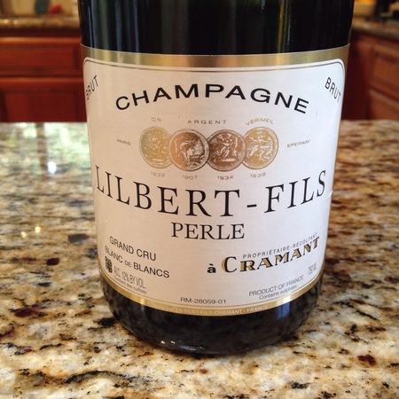 Lilbert-Fils Perle Grand Cru Blanc de Blancs Brut  Champagne Chardonnay NV