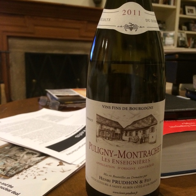 Les Chambres Chassagne-Montrachet Pinot Noir 2011