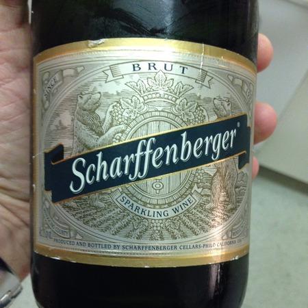 Scharffenberger Brut Sparkling Chardonnay Pinot Noir NV