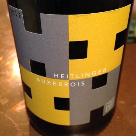 Weingut Heitlinger Gentle Hills Auxerrois  2015