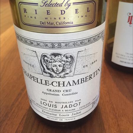 Louis Jadot Chapelle-Chambertin Grand Cru Pinot Noir 2015