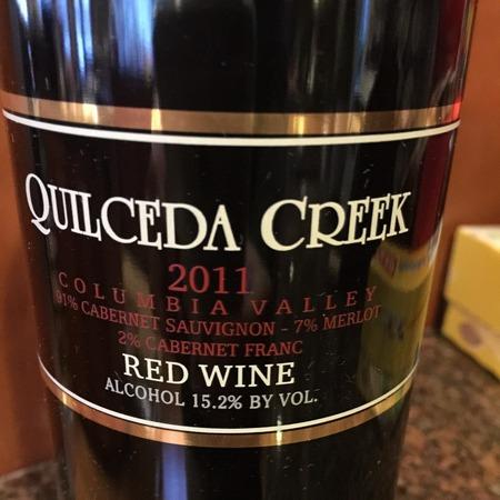 Quilceda Creek CVR Columbia Valley Cabernet Sauvignon Blend 2014