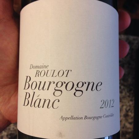 Domaine Roulot Bourgogne Blanc Chardonnay 2012