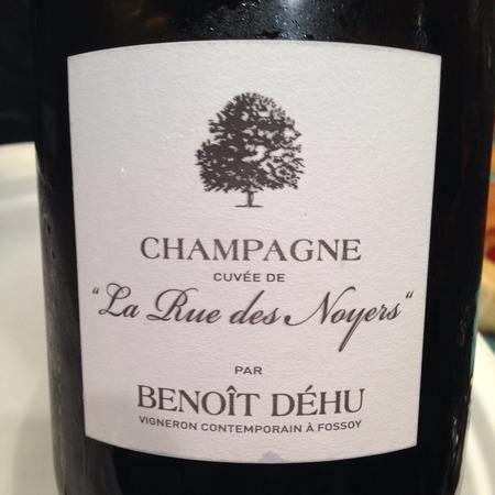 """Benoît Déhu Cuvée de """"La Rue des Noyers"""" Champagne Pinot Meunier NV"""