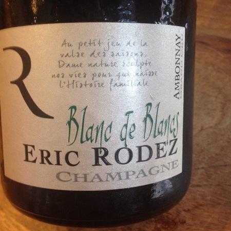 Eric Rodez Blanc de Blancs Champagne Chardonnay NV