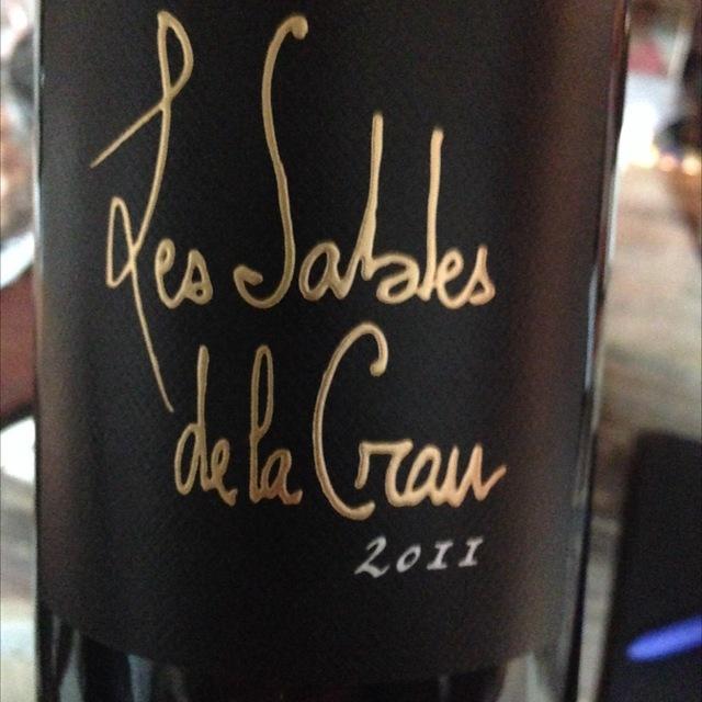 Châteauneuf-du-Pape Cuvée Les Sables de la Crau Red Rhone Blend 2011