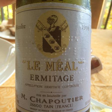 M. Chapoutier Le Méal Ermitage Syrah 1998