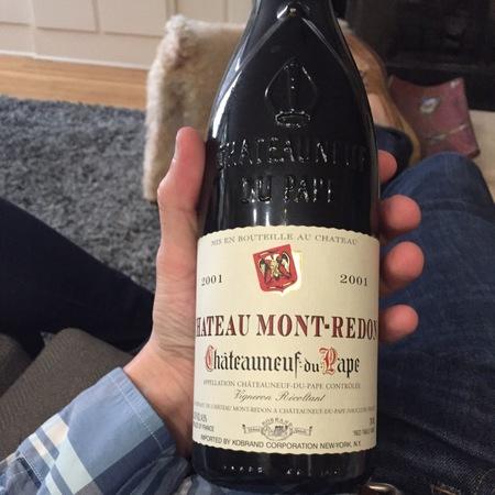 Château Mont-Redon Châteauneuf-du-Pape Red Rhone Blend 2014 (1500ml)