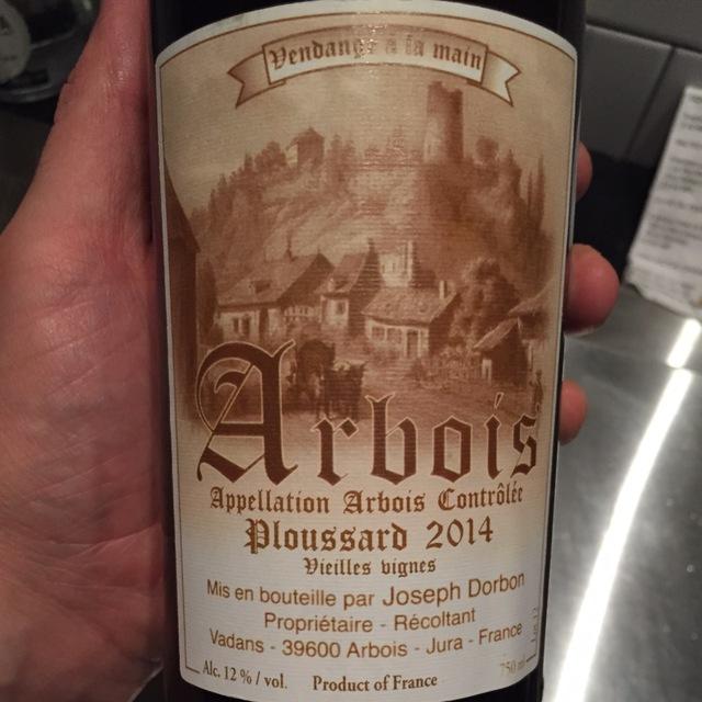 Vieilles Vignes Arbois Ploussard 2014