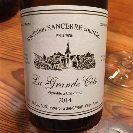 Domaine Pascal Cotat La Grande Côte Sancerre Sauvignon Blanc 2014