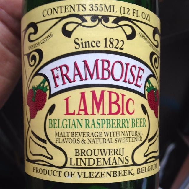 Framboise Lambic Belgian Raspberry Beer NV