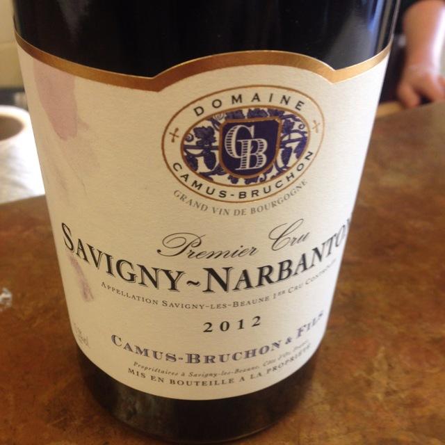 Narbantons Savigny-lès-Beaune 1er Cru Pinot Noir 2012