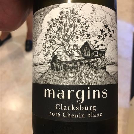 Margins Wine Clarksburg Chenin Blanc  2016