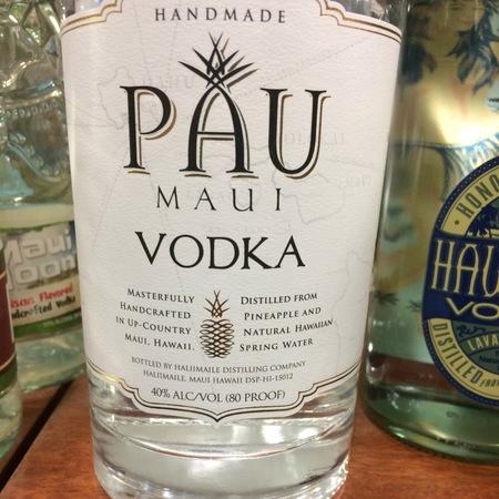 Pau Maui Handmade Vodka NV