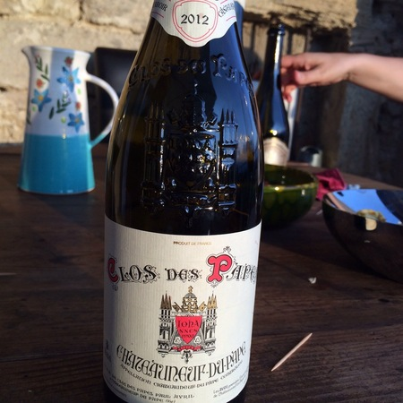 Clos des Papes Châteauneuf-du-Pape Red Rhône Blend 2012