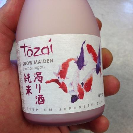Tozai Snow Maiden Junmai Nigori  NV