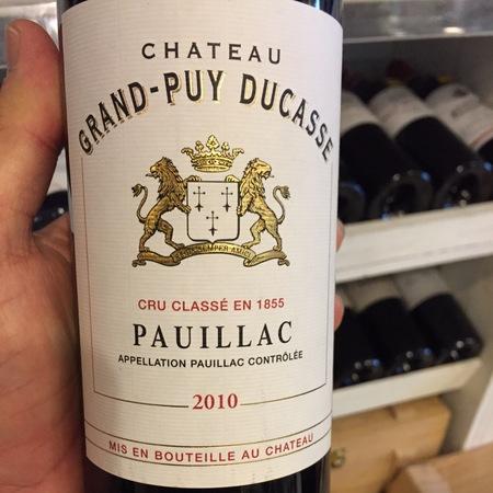 Château Grand-Puy Ducasse Pauillac Red Bordeaux Blend 2010