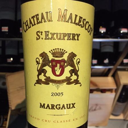Château Malescot St. Exupéry Margaux Red Bordeaux Blend 2015 (1500ml)