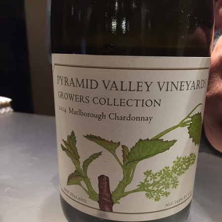 Pyramid Valley Vineyards Growers Collection Marlborough Chardonnay 2014