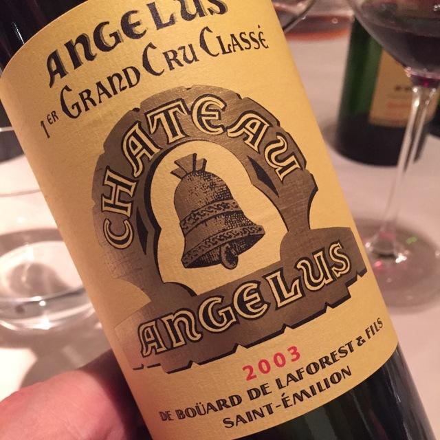 St. Émilion Red Bordeaux Blend 2003
