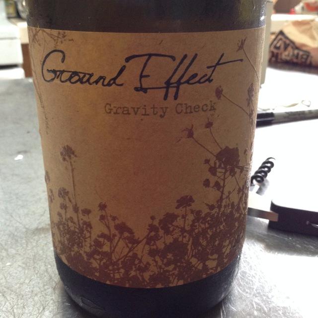 Gravity Check White Blend 2012