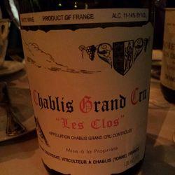 Les Preuses Chablis Grand Cru Chardonnay