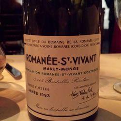 Marey-Monge Romanée St. Vivant Grand Cru Pinot Noir