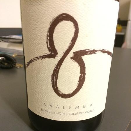 Analemma Blanc de Noir Columbia Gorge Pinot Noir 2012