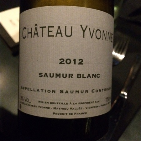 Château Yvonne Saumur Chenin Blanc 2014