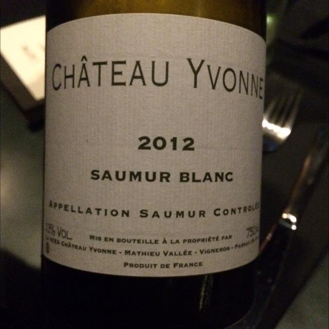 Saumur Chenin Blanc 2014