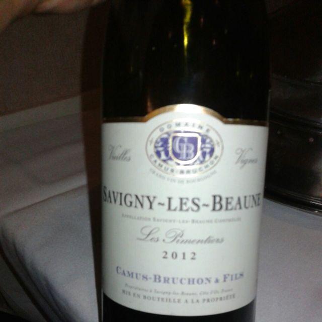 Pimentiers Savigny-lès-Beaune Pinot Noir 2012