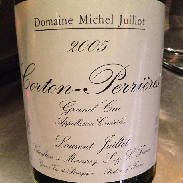 Corton-Perrières Grand Cru Pinot Noir 2005
