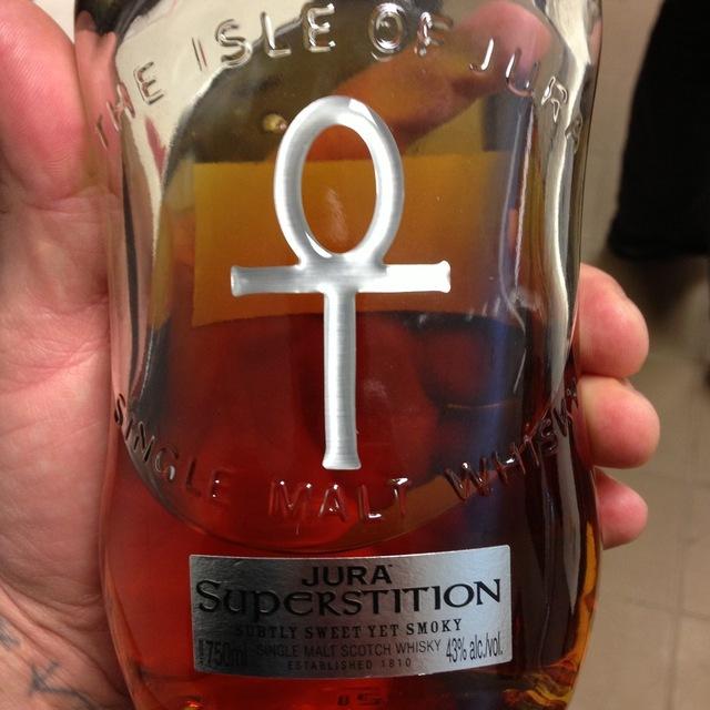 Jura Superstition Single Malt Scotch Whiskey NV