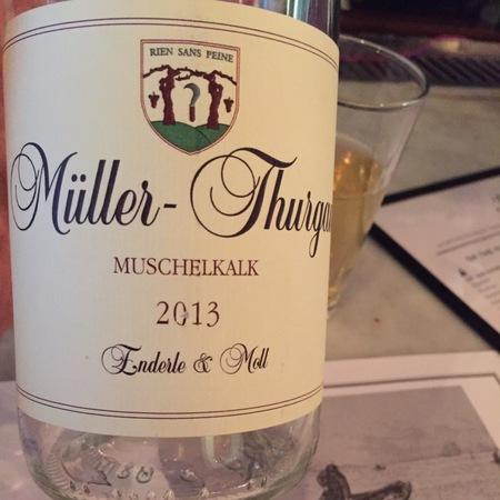 Enderle & Moll Muschelkalk Müller Thurgau 2016
