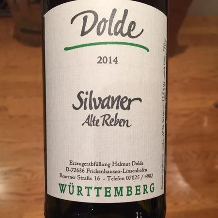 Weingut Dolde Alte Reben Silvaner  2015