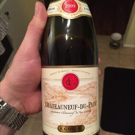 E. Guigal Châteauneuf-du-Pape Red Rhone Blend   2009 (375ml)