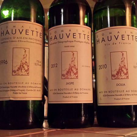 Domaine Hauvette Jaspe Alpilles Roussanne 2012