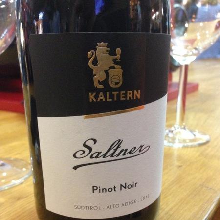 Kellerei Kaltern (Kaltern-Caldaro) Saltner Südtirol-Alto Adige Pinot Noir 2015 (750ml 6bottle)