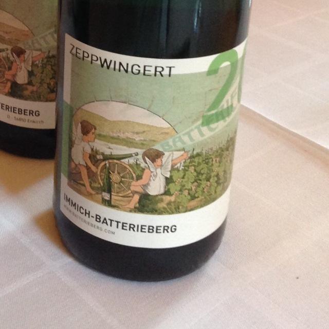 Zeppwingert Mosel-Saar-Ruwer Riesling 2012