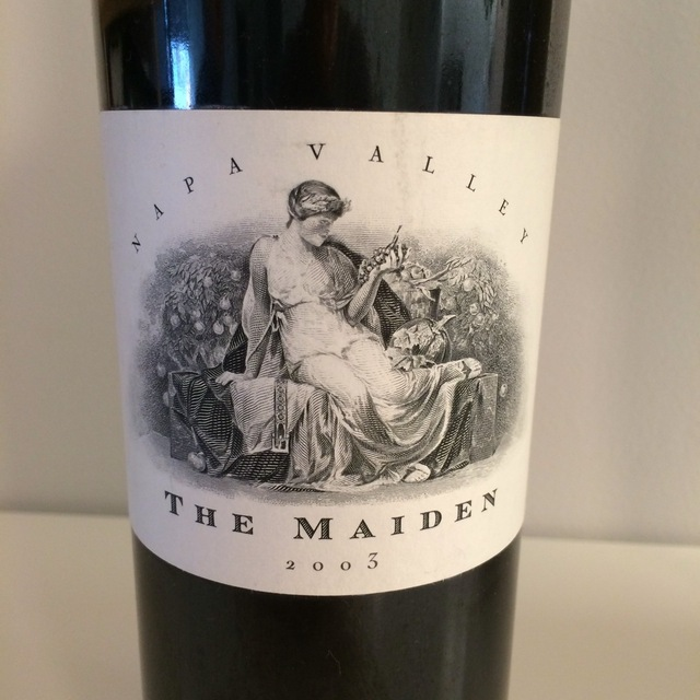 The Maiden Napa Valley Red Bordeaux Blend 2003
