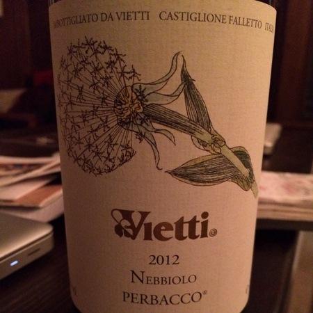 Vietti Castiglione Barolo Nebbiolo 2012