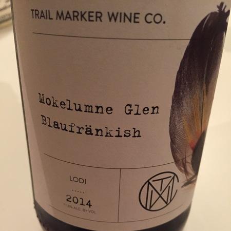 Trail Marker Wine Co. Mokelumne Glen Lodi Blaufränkisch 2016