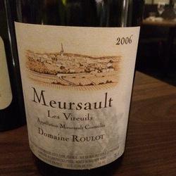 Les Vireuils Meursault Chardonnay