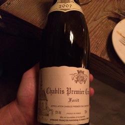 Forêt Chablis 1er Cru Chardonnay