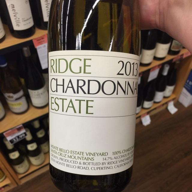 Monte Bello Estate Vineyard Chardonnay 2013