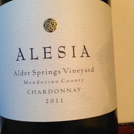 Alesia Alder Springs Vineyard Chardonnay 2013