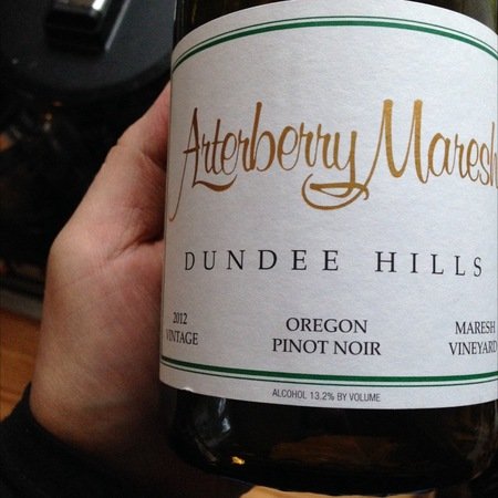 Arterberry Maresh Maresh Vineyard Pinot Noir 2015