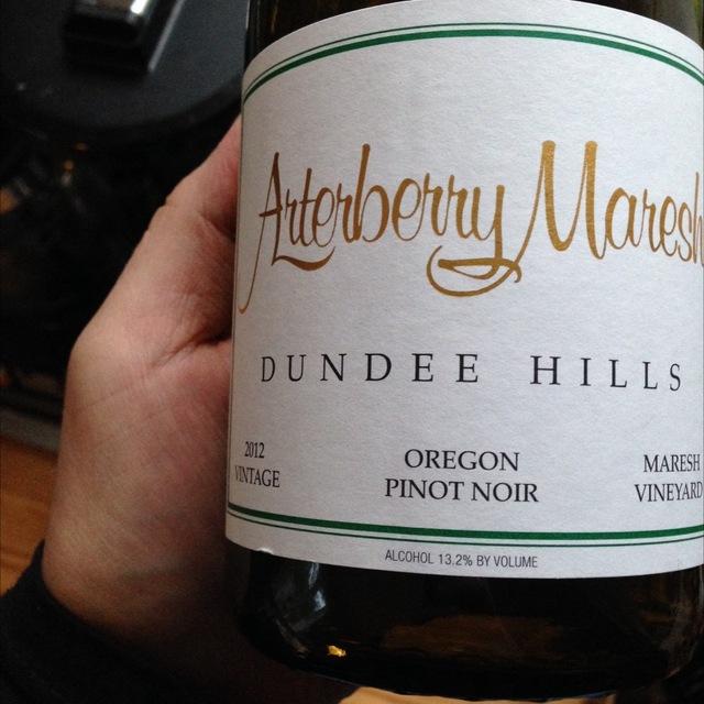 Maresh Vineyard Pinot Noir 2014