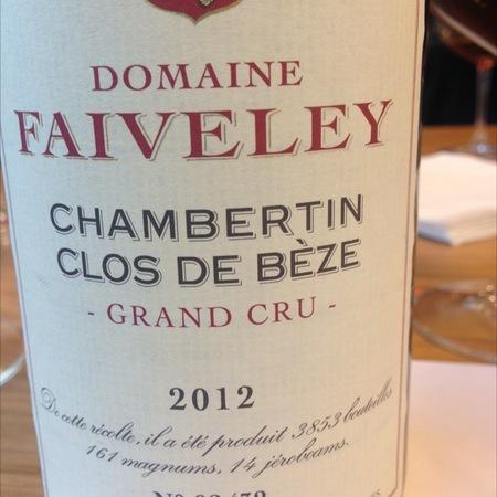 Domaine Faiveley (Joseph Faiveley) Chambertin Clos de Bèze Grand Cru Pinot Noir 2012