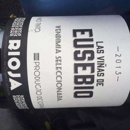 Olivier Rivière Las Viñas de Eusebio Vendimia Seleccionada Rioja Tempranillo 2013